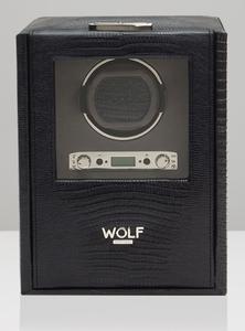 Wolf Blake single černá ještěrka 460658 watchwinder