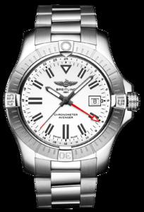 BREITLING AVENGER WHITE GMT A32397101A1A1
