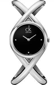 Calvin Klein Enlace černý čísleník DIA