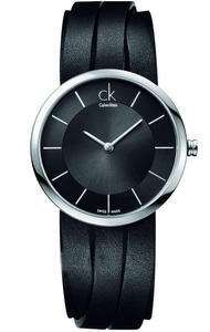 Calvin Klein Extent černá kůže