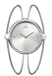 Calvin Klein Agile stříbrný číselník