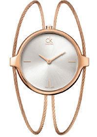Calvin Klein Agile stříbrný číselník, PVD