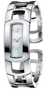 Calvin Klein Dress bílá perleť