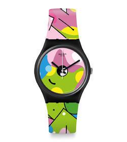 SWATCH hodinky GB317 IMAGE OF GRAFFITI