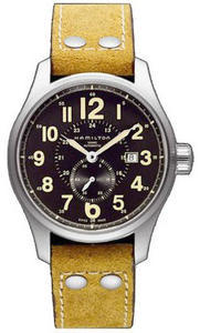 HAMILTON Khaki Field Officer Auto H70655733