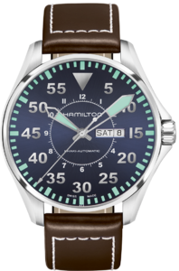 HAMILTON  Khaki Aviation Pilot Auto H64715545