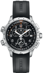 HAMILTON Khaki aviation X-Wind GMT Chrono Quartz H77912335