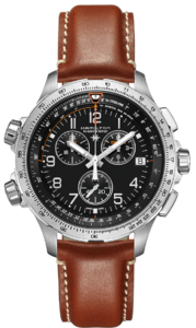 HAMILTON KHAKI Aviation X WIND GMT Chrono H77912535