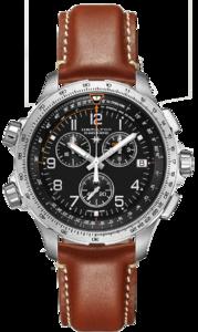 HAMILTON KHAKI X WIND GMT H77912535