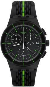 Swatch hodinky SUSB409 LASER TRACK