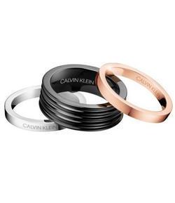 Calvin Klein prsteny 3v1 Blast KJ7MBR3001