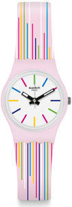 SWATCH hodinky LP155 PINK MIXING
