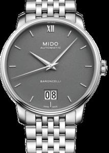 MIDO Baroncelli Big Date M027.426.11.088.00