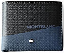 MONTBLANC Etreme 2.0 peněženka 6cc black and blue 128613