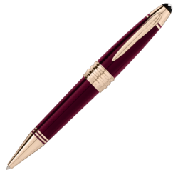 MONTBLANC John F. Kennedy Special Edition Burgundy Ballpoint Pen 118083
