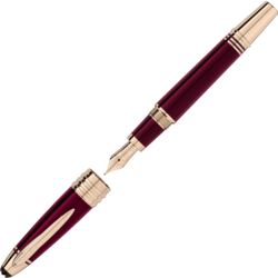 MONTBLANC John F. Kennedy Special Edition Burgundy Fountain Pen 118051