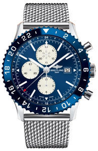 BREITLING CHRONOLINER BLUE Y2431016/C970/152A