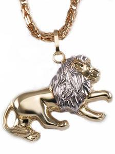 Zlatý přívěšek lev P81