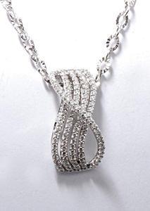 Zlatý přívěšek s diamanty P167