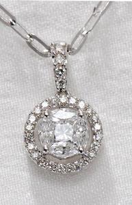 Zlatý přívěšek s diamanty P220