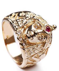 Zlatý prsten Kleopatra P834