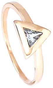Zlatý prsten se zirkonem P674