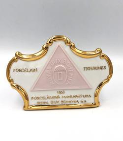 Socha Royal Dux Bohemia značka 25666