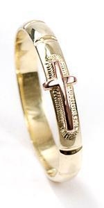 Zlatý růžencový prsten P951
