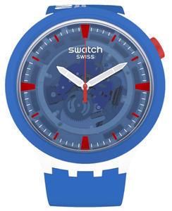 SWATCH hodinky SB04Z400 JUMPSUIT NASA