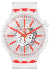 SWATCH hodinky SO27E102 ORANGEINJELLY