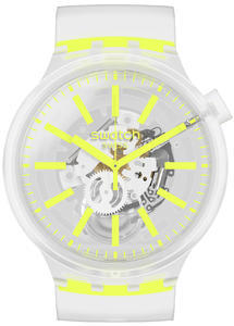 SWATCH hodinky SO27E103 YELLOWINJELLY