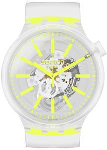 SWATCH hodinky SO27E103 YELLOWINJELLY