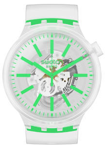 SWATCH hodinky SO27E104 GREENINJELLY