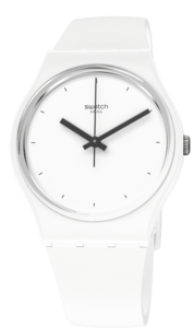 SWATCH hodinky SO31W100 THINK TIME WHITE