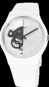 SWATCH hodinky SO31W101 LIVE TIME WHITE