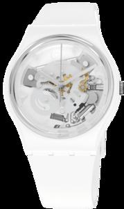 SWATCH hodinky SO31W102 SPOT TIME WHITE