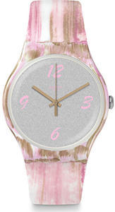 SWATCH hodinky SUOW151 PINKQUARELLE