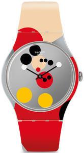 SWATCH hodinky SUOZ290S MIRROR SPOT MICKEY