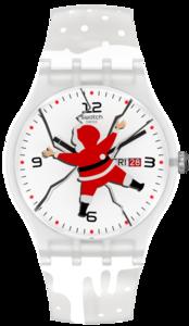 SWATCH hodinky SUOZ717 HoHoOUCH