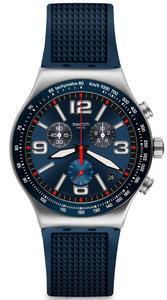 SWATCH hodinky YVS454 BLUE GRID