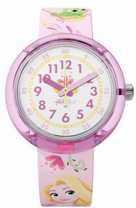 Flik Flak hodinky ZFLNP028 DISNEY RAPUNZEL