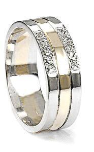 Zlaté snubní prsteny S13