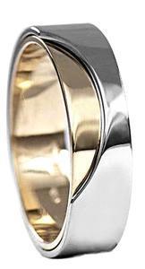 Zlaté snubní prsteny S16