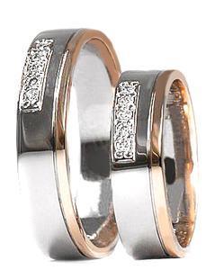 Zlaté snubní prsteny S26