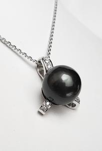 Zlatý přívěšek s tahitskou perlou TAHITI 023377