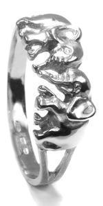 Zlatý prsten Sloníci P1005