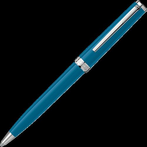 MONTBLANC PIX Petrol Blue Ballpoint Pen 119351  - 1