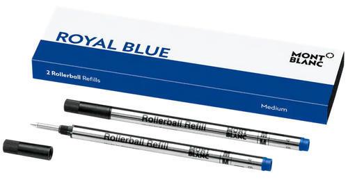 Montblanc inkoustová náplň Royal Blue M 124504 2x balení