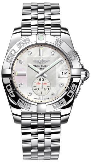 BREITLING GALACTIC 36 pearl diamond A37330121A1A1  - 1