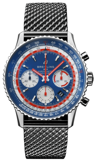 BREITLING NAVITIMER B01 Airline Edition PAN AM AB01212B1C1A1  - 1